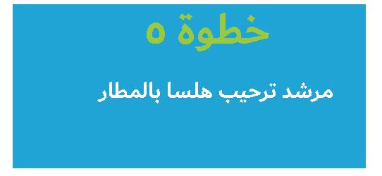 وصف الخطوة 5 : دليل مترجم هلسا يرحب بكم في المطار <br> ستنتقل إلى مركز طبي أو فندق