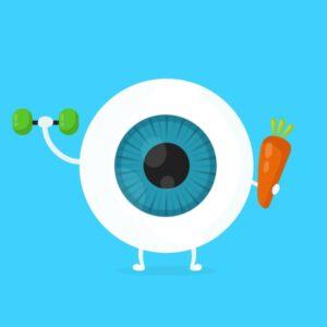 تأثير التمرين على البصر