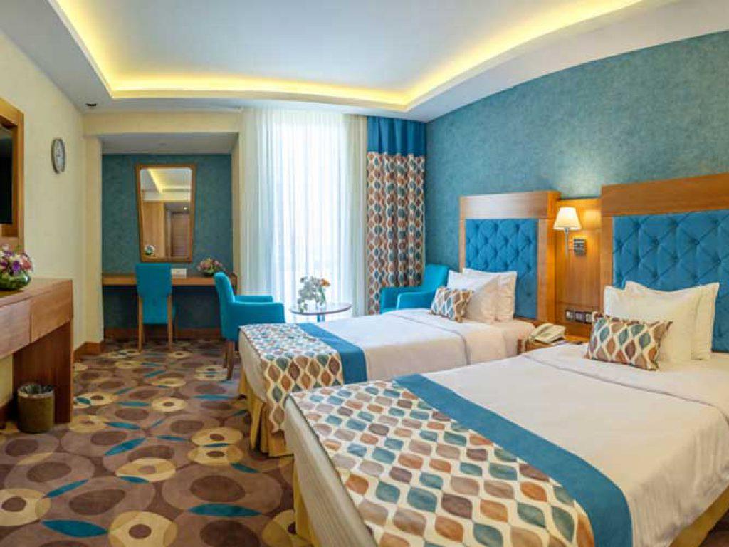 توئین هما کلاس هتل هما تهران